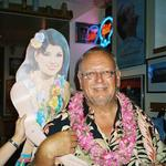 Hula Girl with her main man, Terry